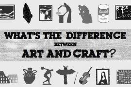L'artiste et l'artisan aux origines de l'art et de l'artisanat. À quoi bon tant de différences ?