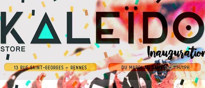 Kaleïdo Store : un nouveau venu dans les rues de Rennes