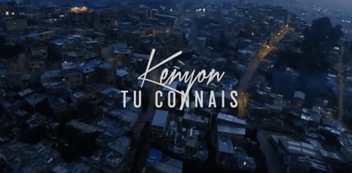 Tourné à Bogotá, Kenyon revient fort avec le clip «Tu connais»