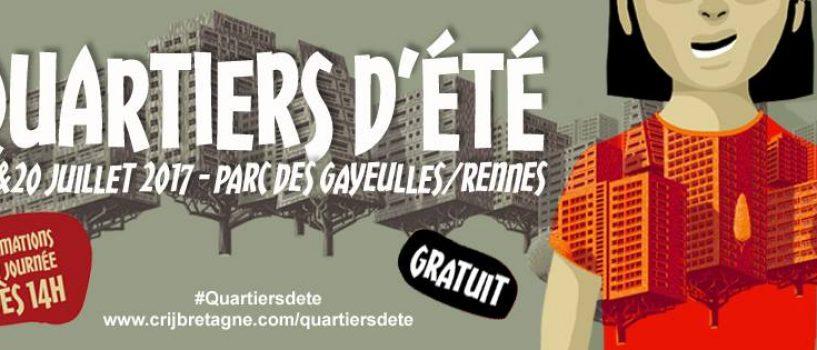La 24ème édition du festival Quartiers d'Été