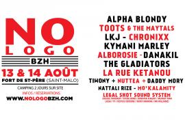 La fine fleur de Reggae le 13 et 14 Août avec le NO LOGO BZH festival