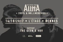 Après le festival Mythos, Alltta est de retour à Rennes avec The Geek & VRV
