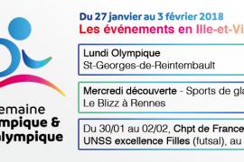 Les sports de glace fêtent l'olympisme le 31 Janvier