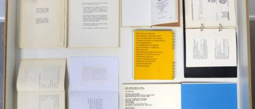 Exposition «OURS, COLOPHON, ACHEVÉ D'IMPRIMER : LE LIVRE D'ARTISTE ET LE PÉRITEXTE» jusqu'au 19 avril