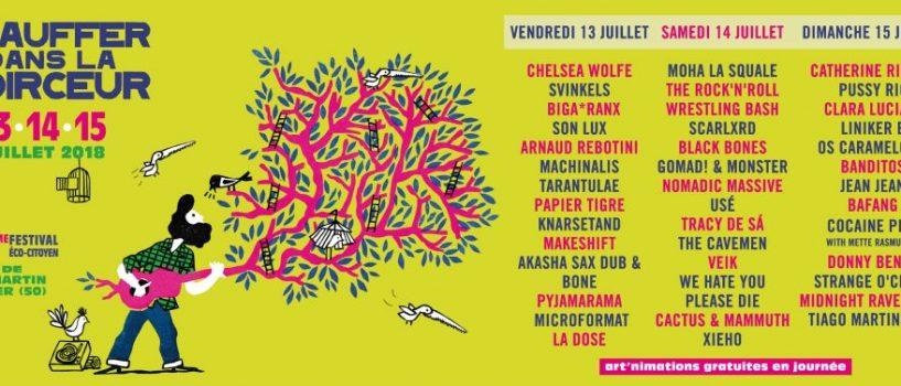 Retour sur Chauffer dans la Noirceur, THE festival qui ouvre l'été