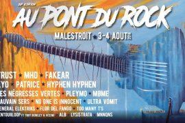 Empruntez le Pont du Rock à Malestroit les 3 et 4 août