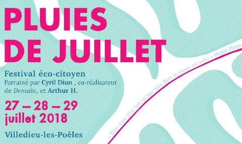 Des Pluies de Juillet éparses et éco-citoyennes annoncées à Villedieu-Les-Poêles