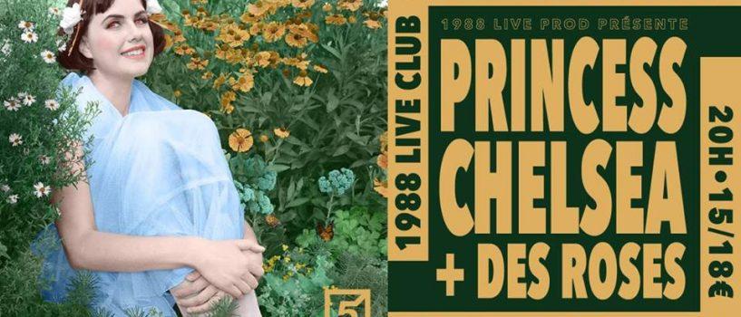 [LES 5 ANS DU 88] Princess Chelsea en concert à Rennes