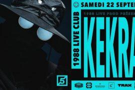 [LES 5 ANS DU 88] KEKRA présentera son album «Land» en concert !