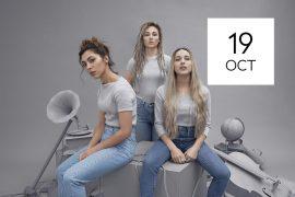 L.E.J – Le trio vient nous rendre visite à l'étage vendredi 19 octobre !
