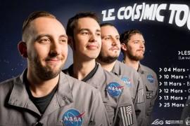 Le Rock'N'Drôle en version «Cosmic» avec Les 3 Fromages!