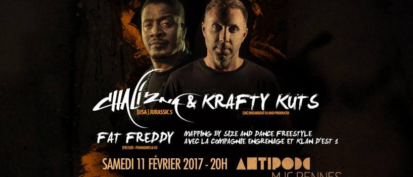 On a discuté hip-hop et foot avec Chali 2na et Krafty Kuts