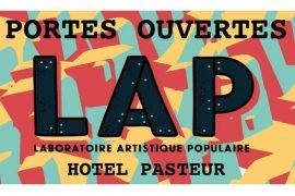 Le Laboratoire Artistique Populaire ouvre ses portes !