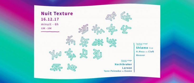 Après TXTR, l'Organisme Texture présente un nouveau concept d'événement !