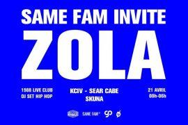 Le mois dernier, ZOLA Binks a retourné le 1988 Live Club