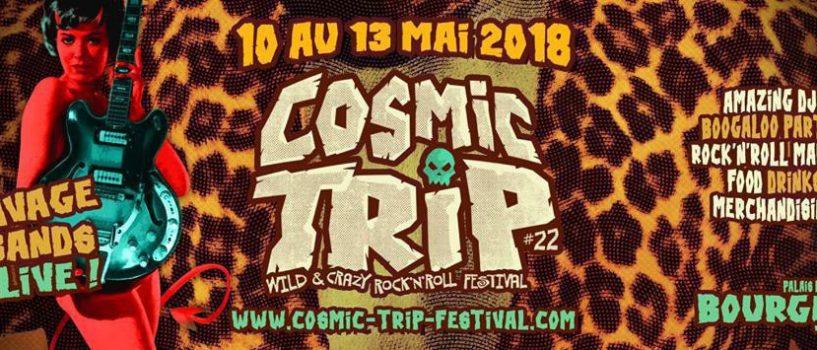 Retour sur le festival de rock garage Cosmic Trip 2018
