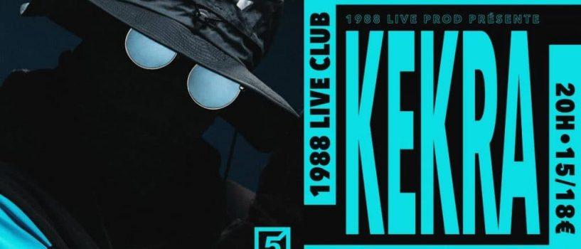 """[LES 5 ANS DU 88] KEKRA présentera son album """"Land"""" en concert !"""