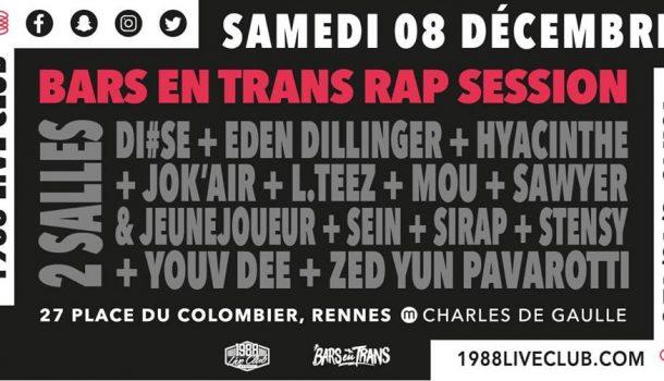 Bars en Trans 2018 : Bars en Trans Rap Session