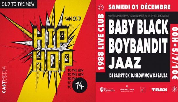 OldToTheNew x Le P'tit Rennais #14 Baby Black / BoyBandit / Jaaz