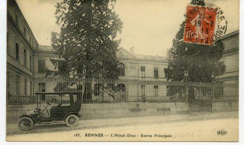Archives municipales : coup de projecteur sur l'histoire de l'Hôtel-Dieu de Rennes