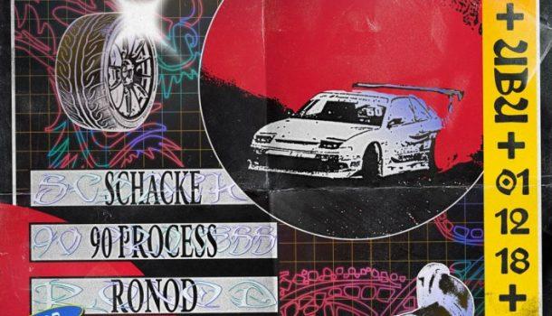 La Tangente : DRIFT w/ Schacke, 90 Process, Ronod x J.Terechkova