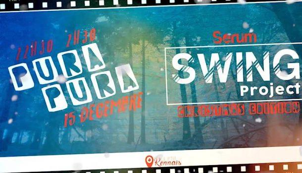 "Swing Project ""Christmas Edition"" w/ Pura Pura"