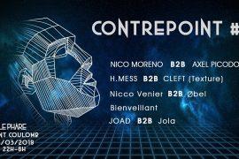 Le collectif malouin Contrepoint organise leur première soirée le 16 mars à st Coulomb !