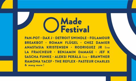 Prêt pour le Made Festival 2019 ?! Du 23 au 26 mai c'est le rendez-vous des passionnés de musique électronique à Rennes !