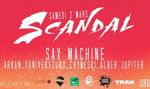 Le premier «Scandal» sera révélé au grand jour à l'UBU!