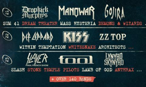 Beware ! Hellfest is coming les 21, 22 et 23 juin