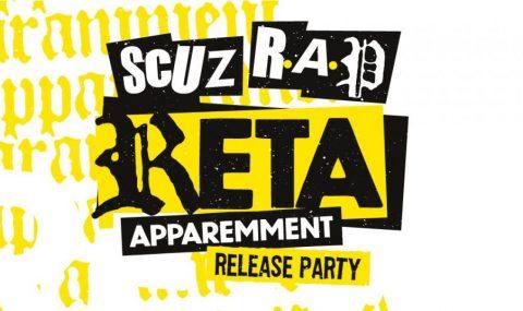 La première édition de SCUZ R.A.P avec RETA le 13 Septembre!
