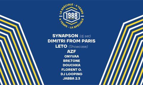 Leto en concert à Rennes pour les 6 ans du 1988 Live Club