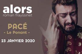 Roman Frayssinet, le 23 Janvier 2020 au Ponant à Pacé